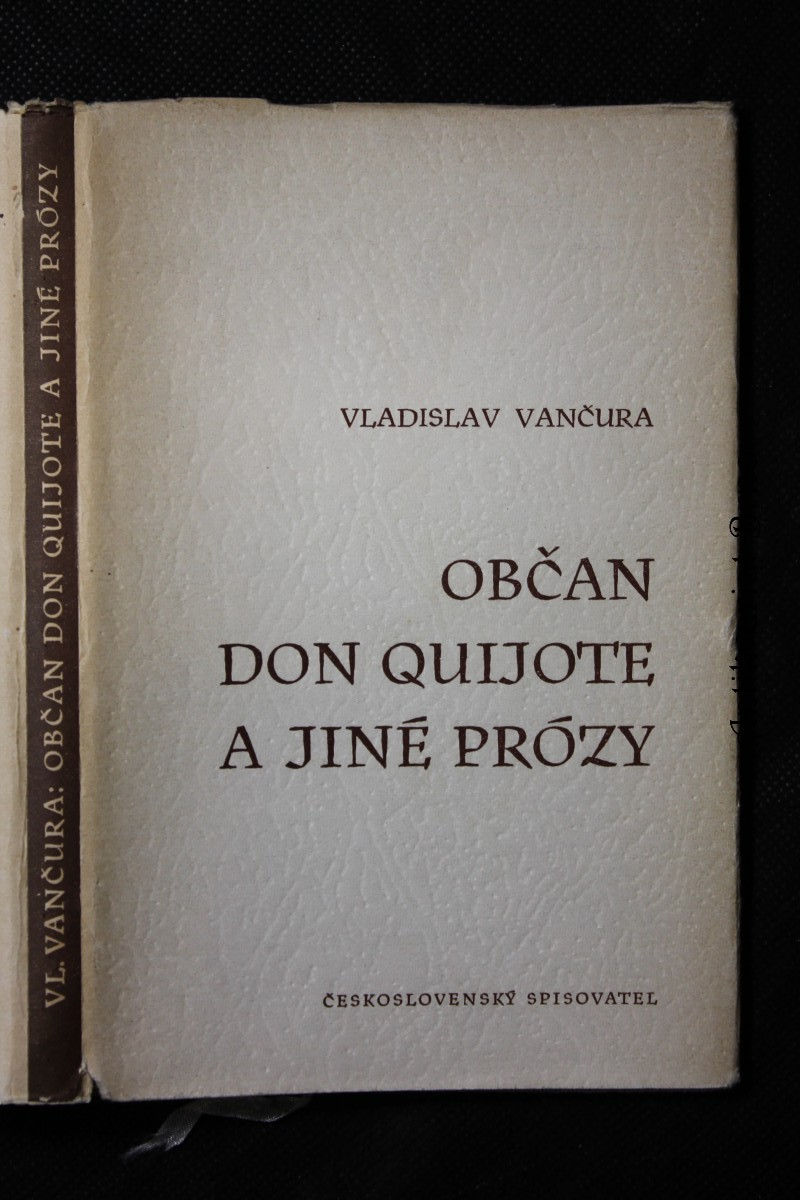 Občan Don Quijote a jiné prózy
