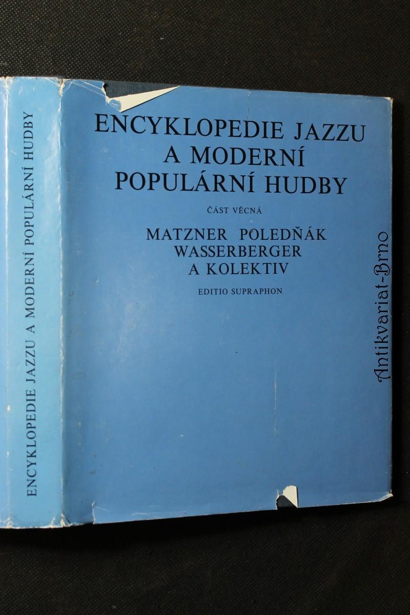 Encyklopedie jazzu a moderní populární hudby. Část věcná