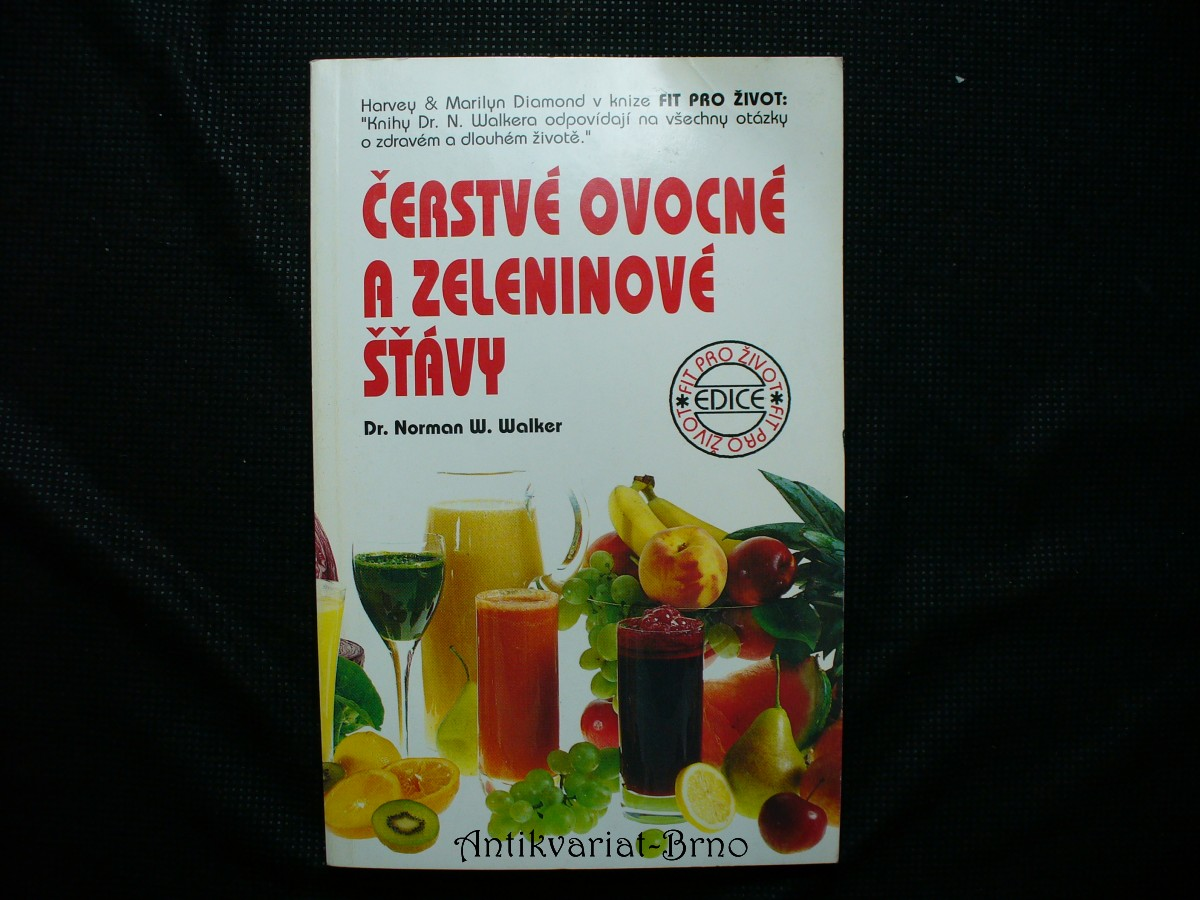 Čerstvé ovocné a zeleninové šťávy