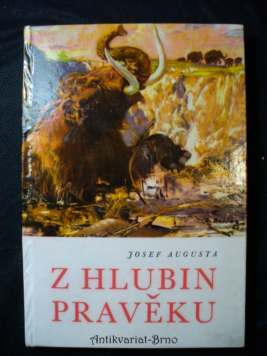Z hlubin pravěku : [populárně naučná četba doplňující paleontologické učivo učebnic všeobec. vzdělávacích škol]