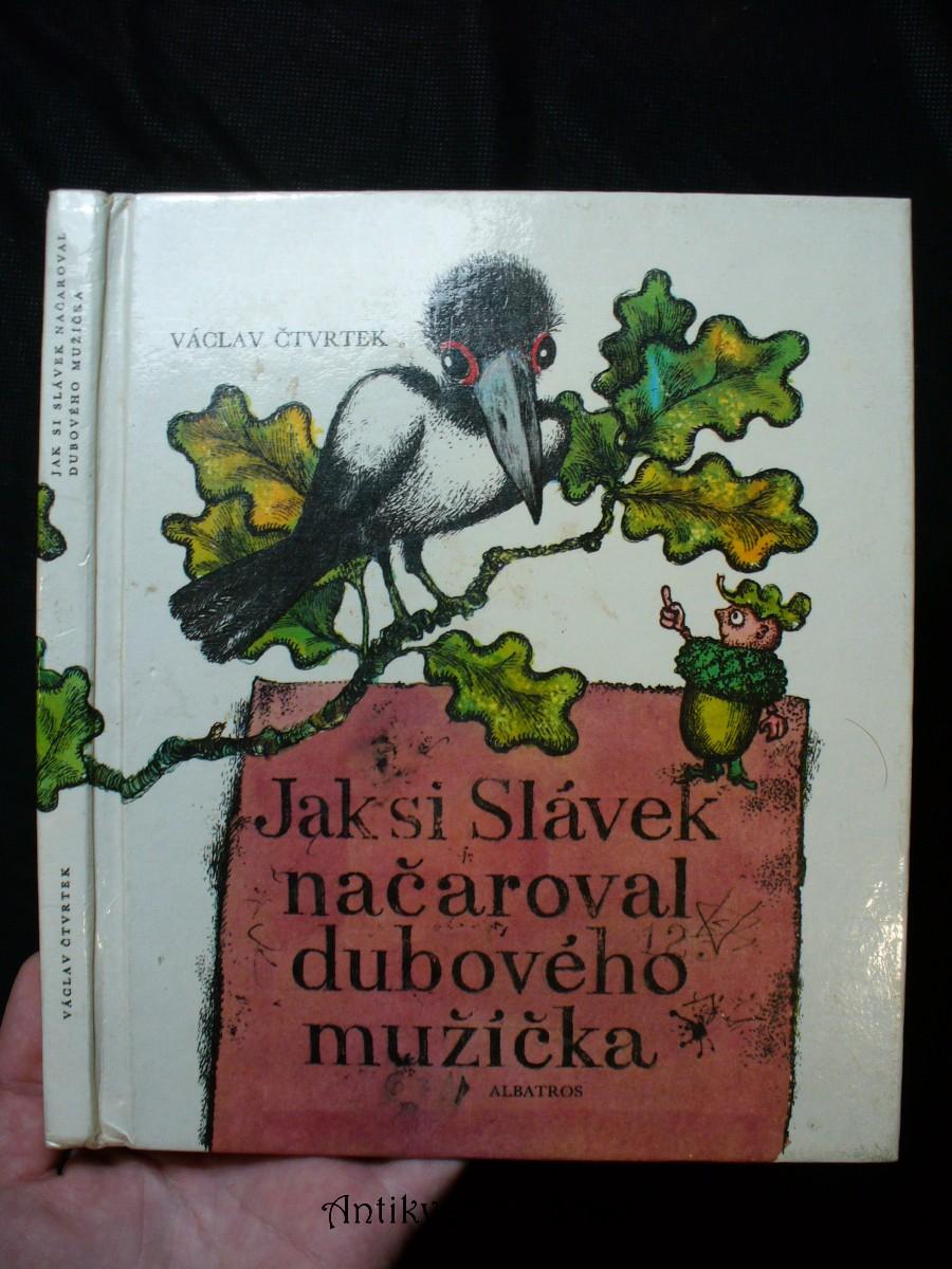 Jak si Slávek načaroval dubového mužíčka : pro začínající čtenáře
