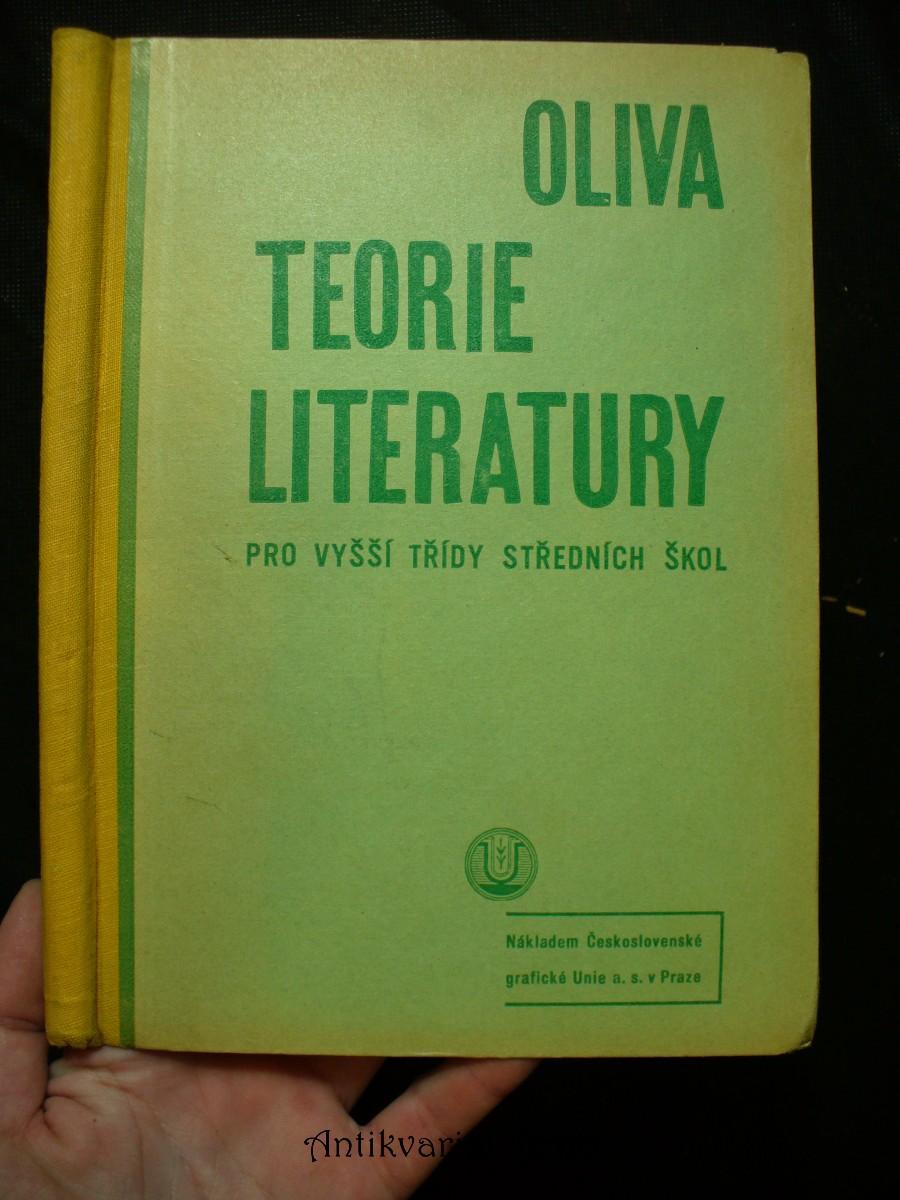 Teorie literatury pro vyšší třídy středních škol