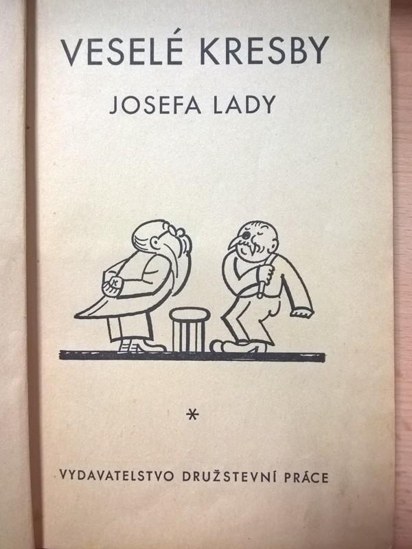Lada Vesele Kresby Josefa Lady 1949