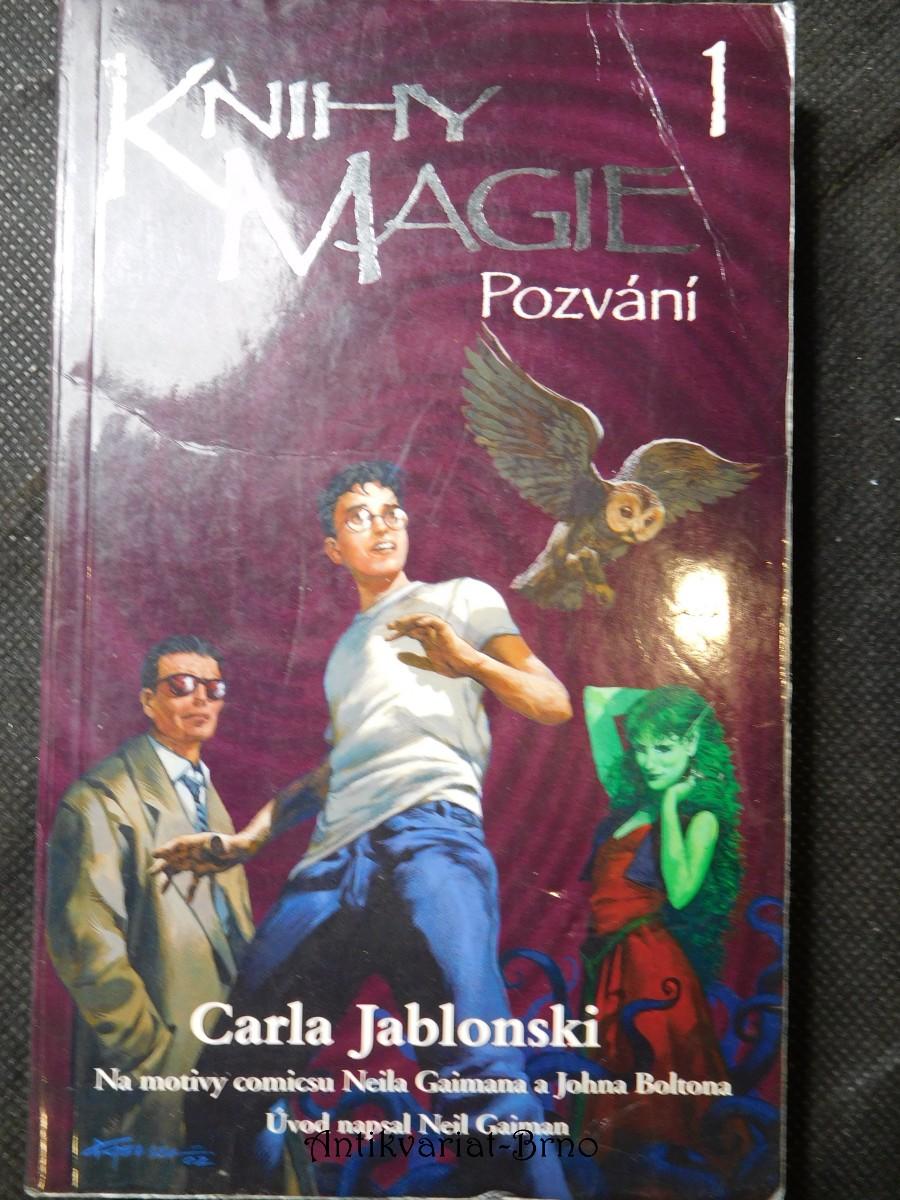 Knihy magie. 1, Pozvání