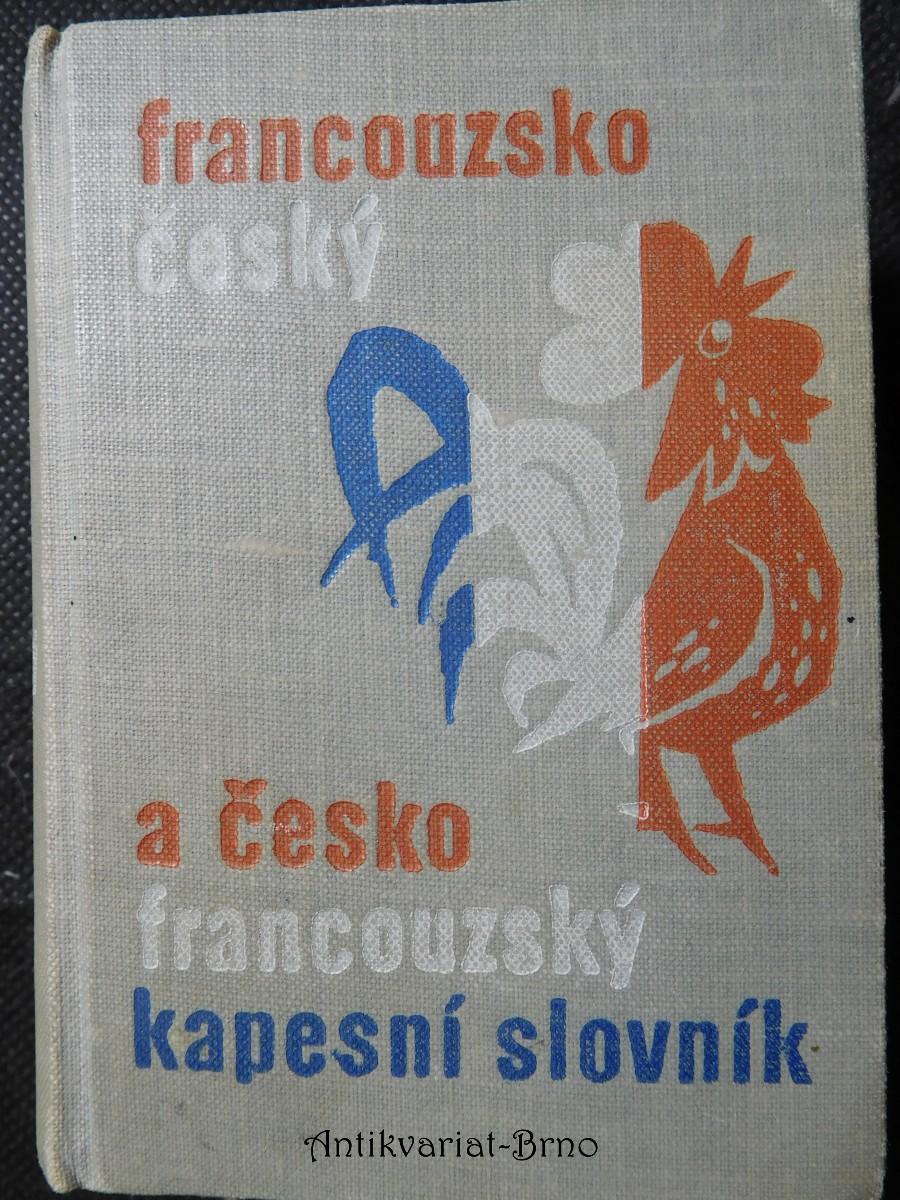 Kapesní slovník francouzsko-český a česko-francouzský