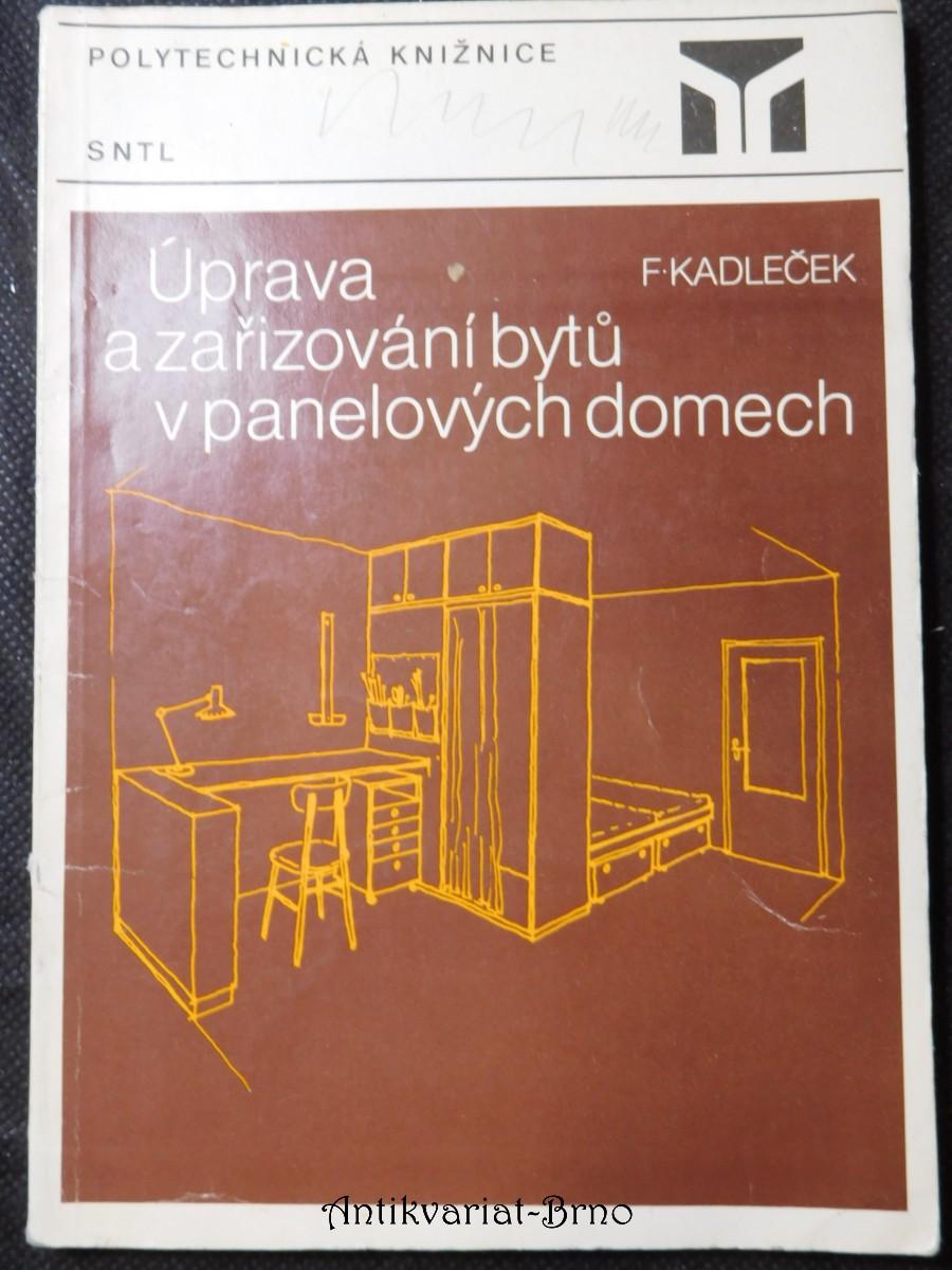 Úprava a zařizování bytů v panelových domech