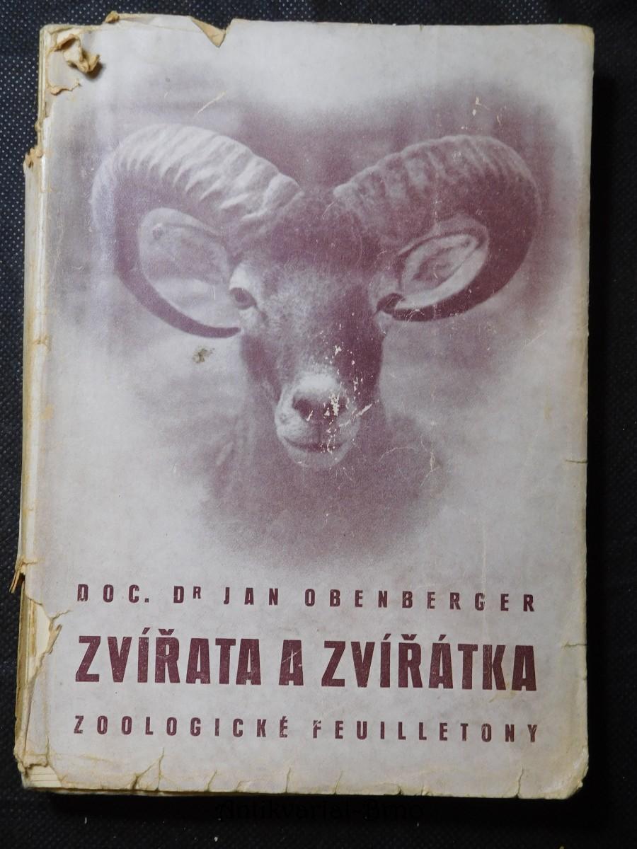 Zvířata a zvířátka : zoologické feuilletony