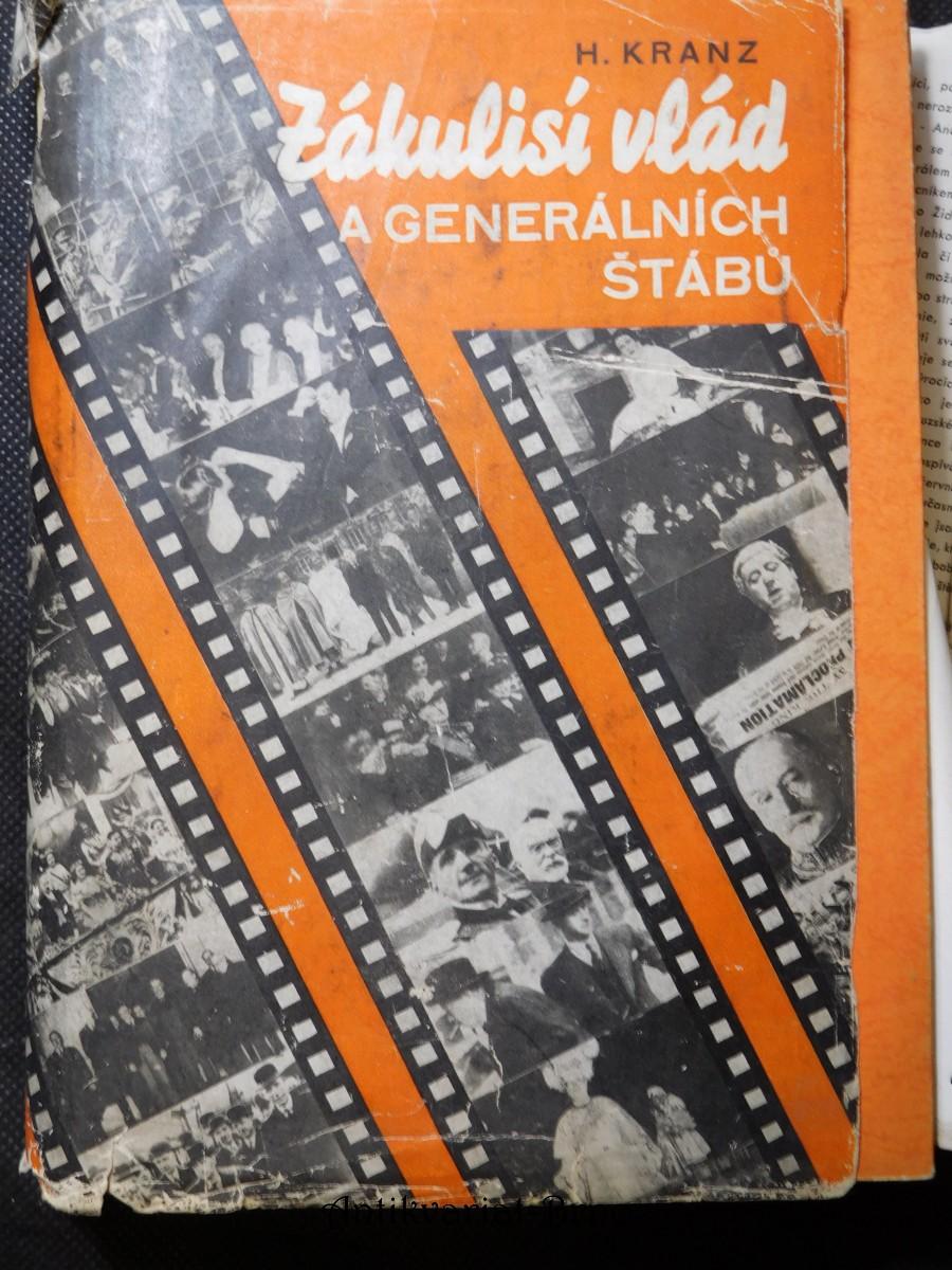 Zákulisí vlád a generálních štábů : Francie 1933-40