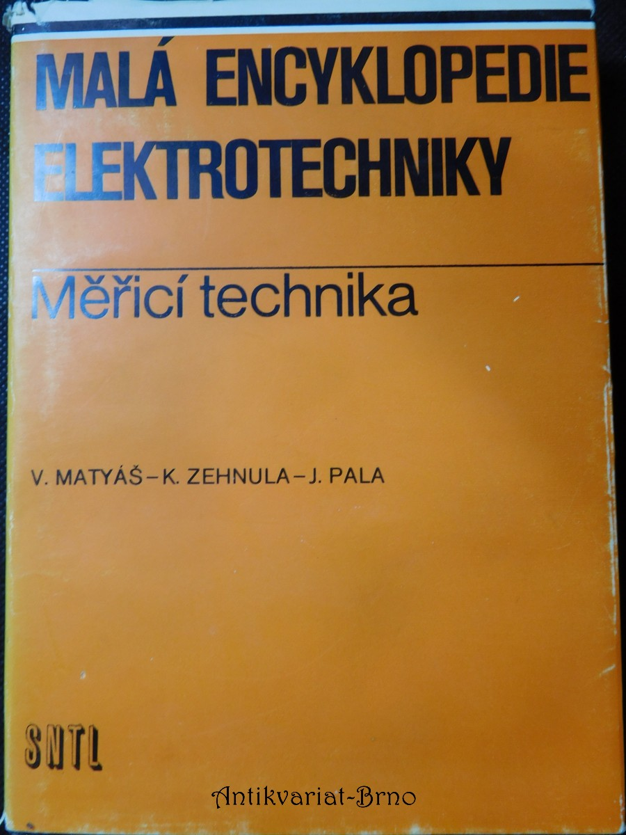 Malá encyklopedie elektrotechniky: Měřící technika
