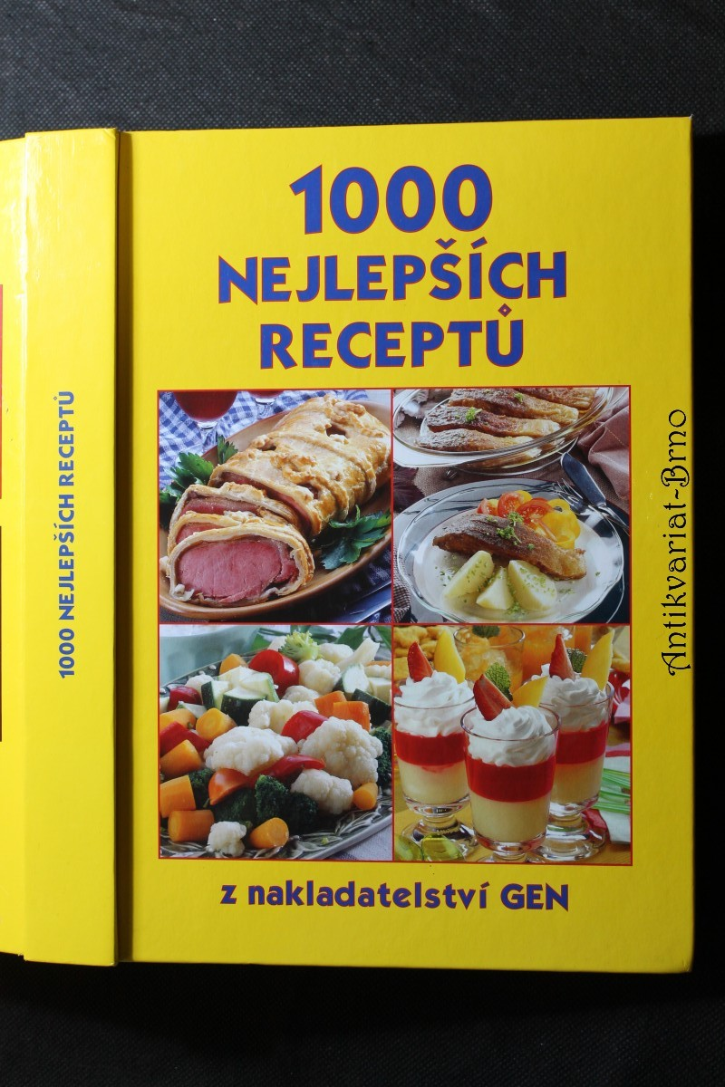 1000 nejlepších receptů : z vydavatelství Gen