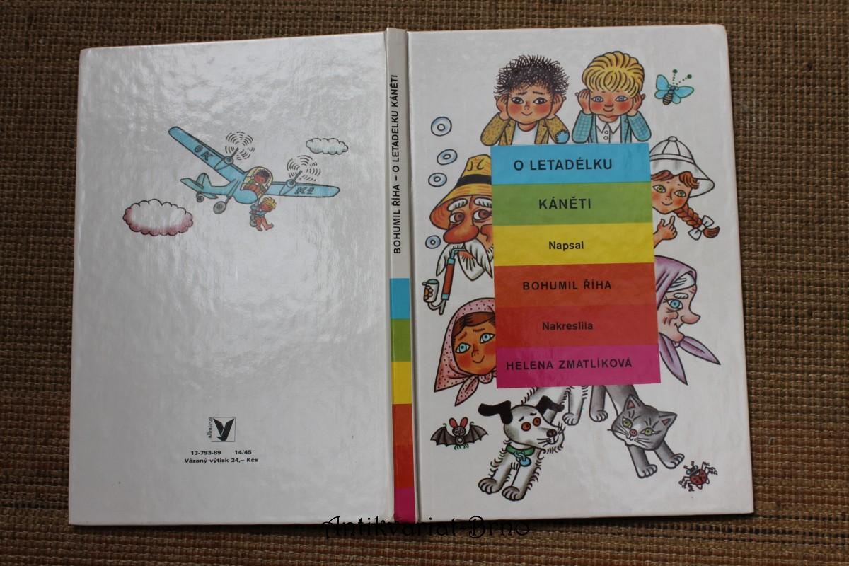 O letadélku Káněti : veselé příhody pekelských dětí a jejich psa s malým letadlem : pro čtenáře od 6 let
