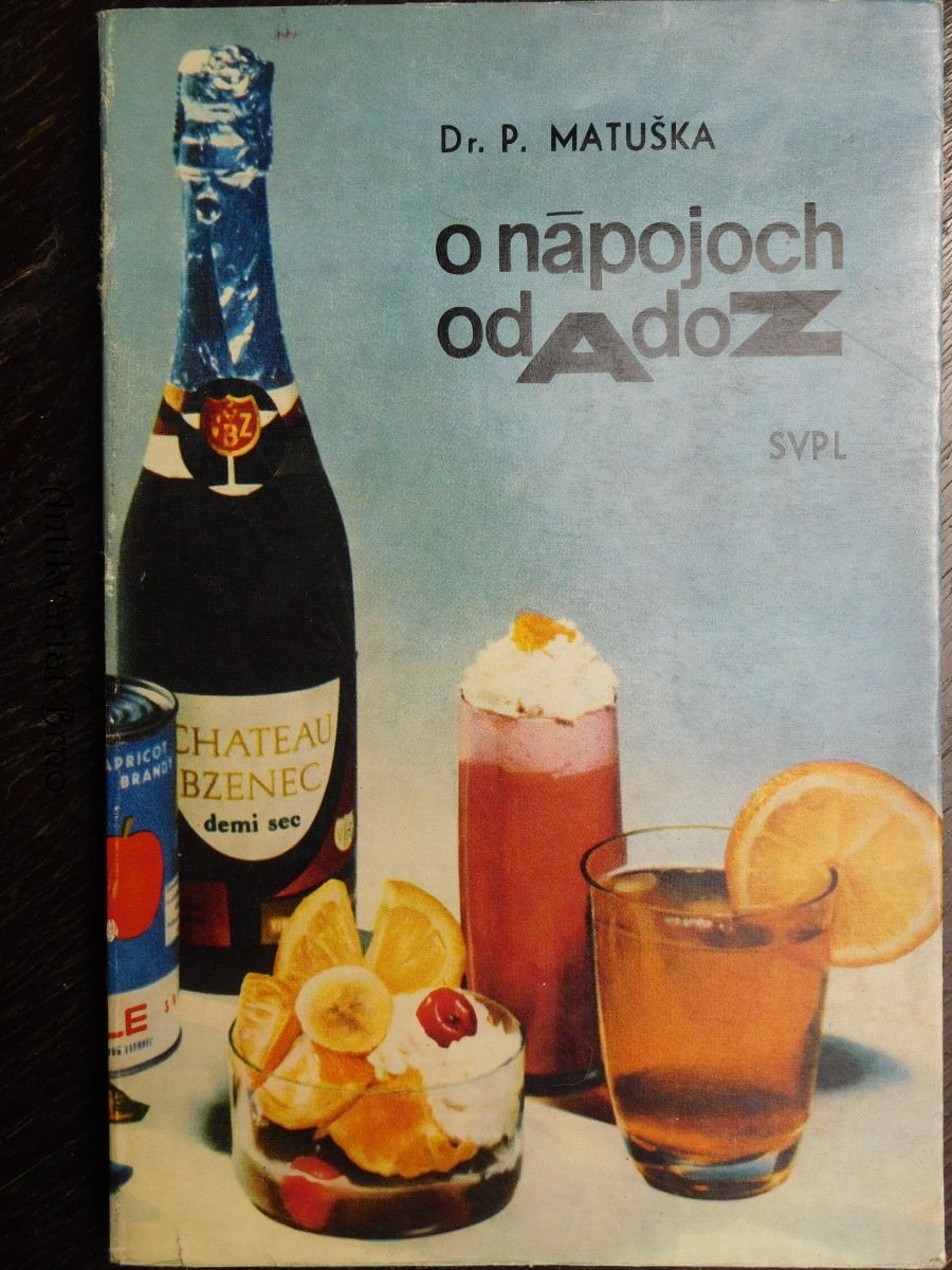 O nápojích od A do Z