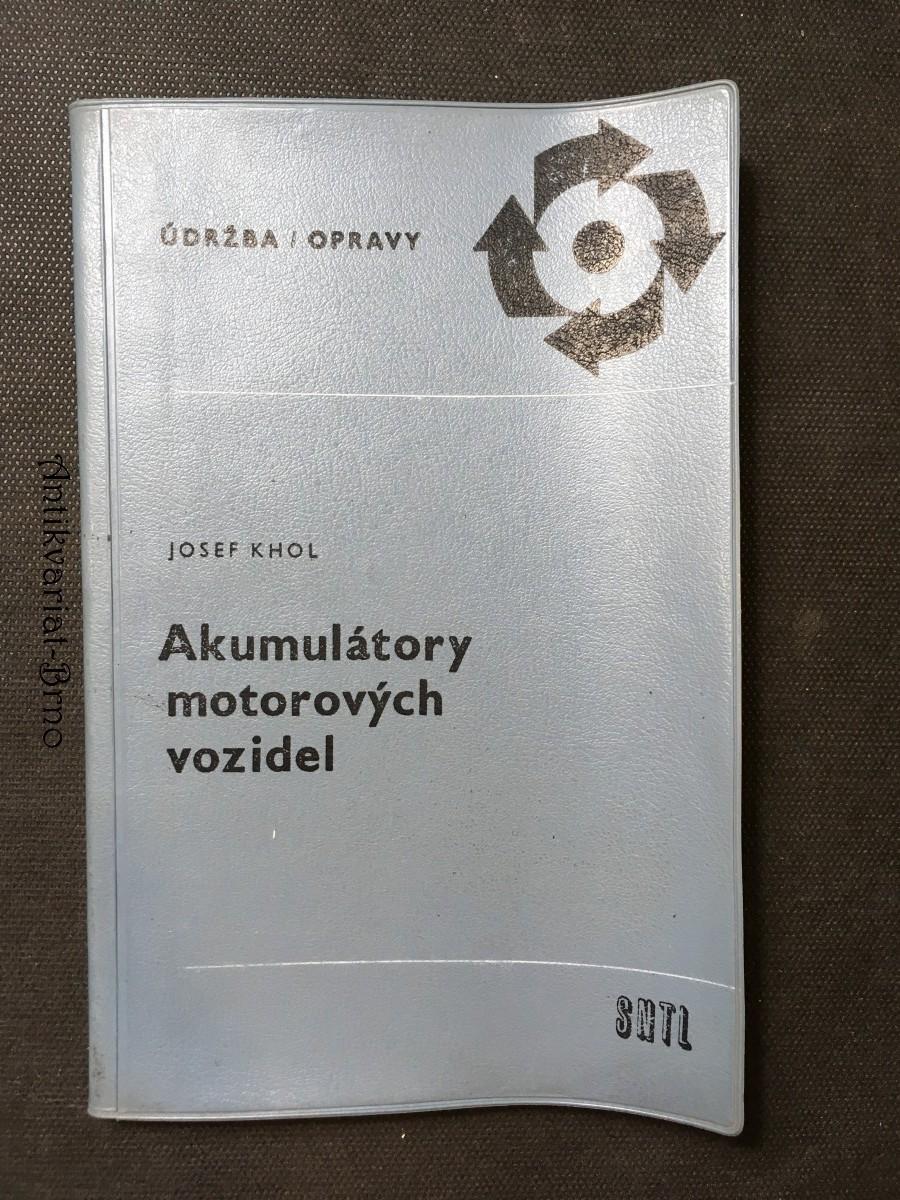 Akumulátory motorových vozidel
