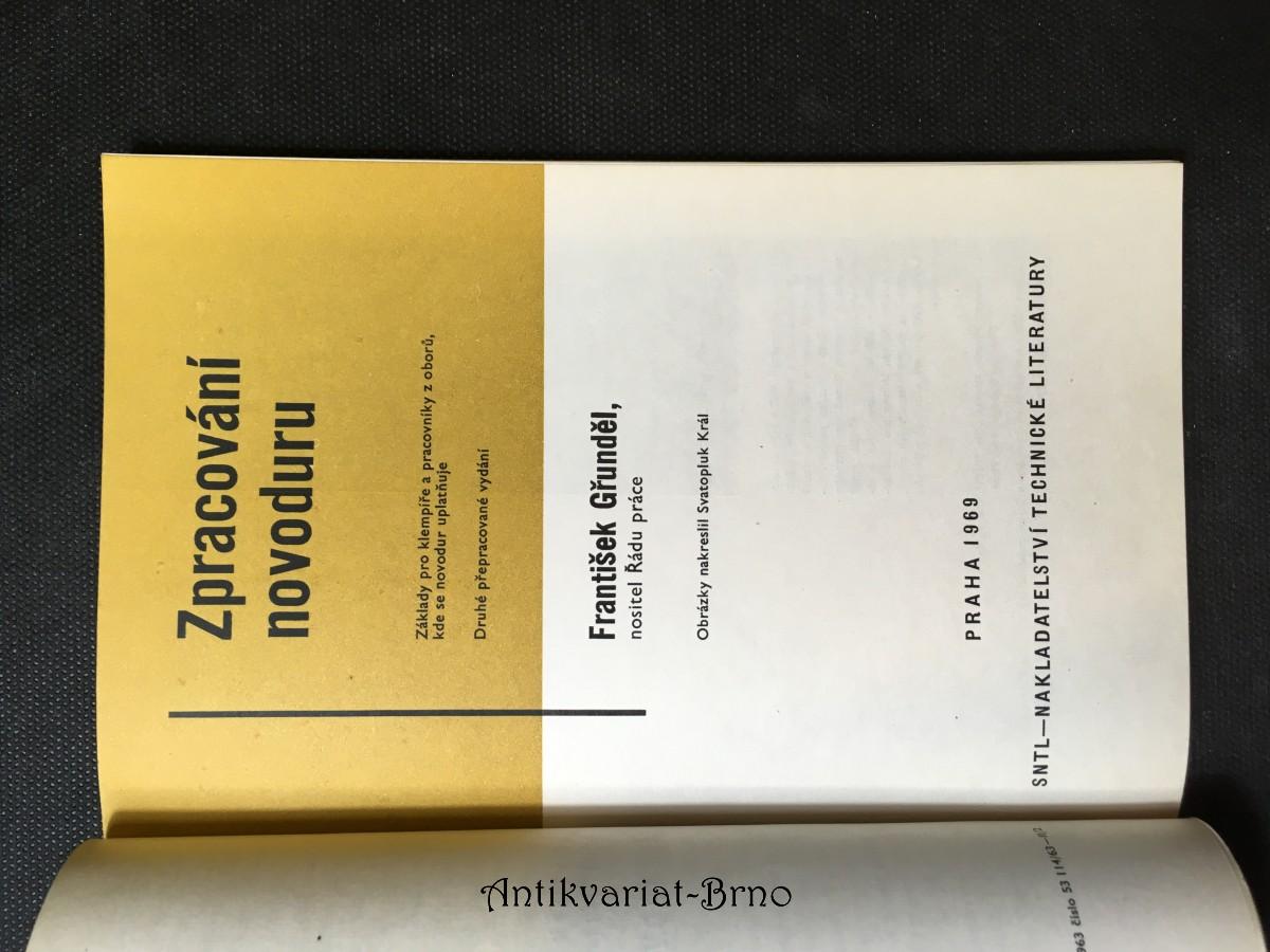 Zpracování novoduru: základy pro klempíře a pracovníky z oborů, kde se novodur uplatňuje: učební text pro 2. roč. učeb. oboru klempíř