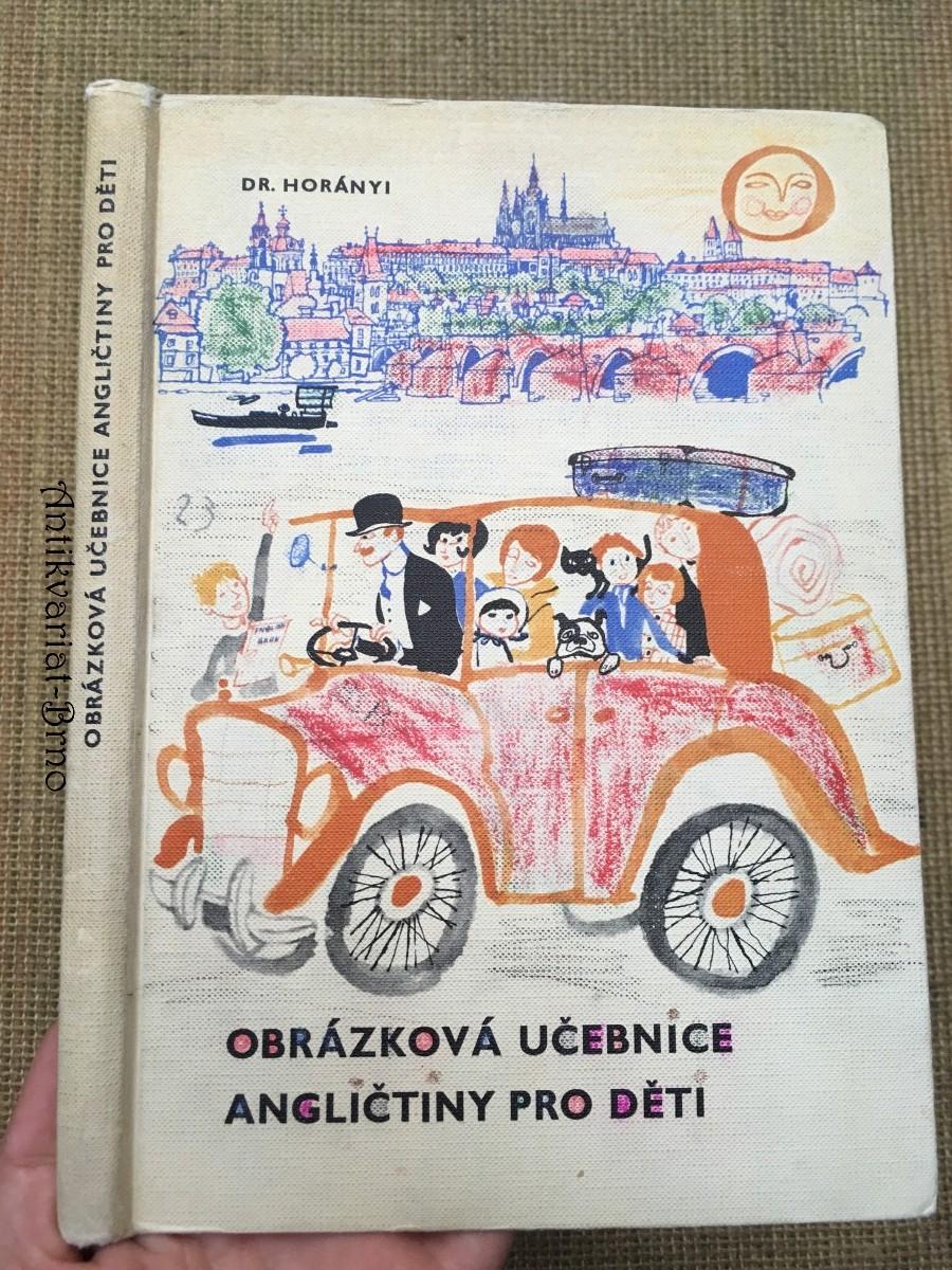 Obrázková učebnice angličtiny pro děti