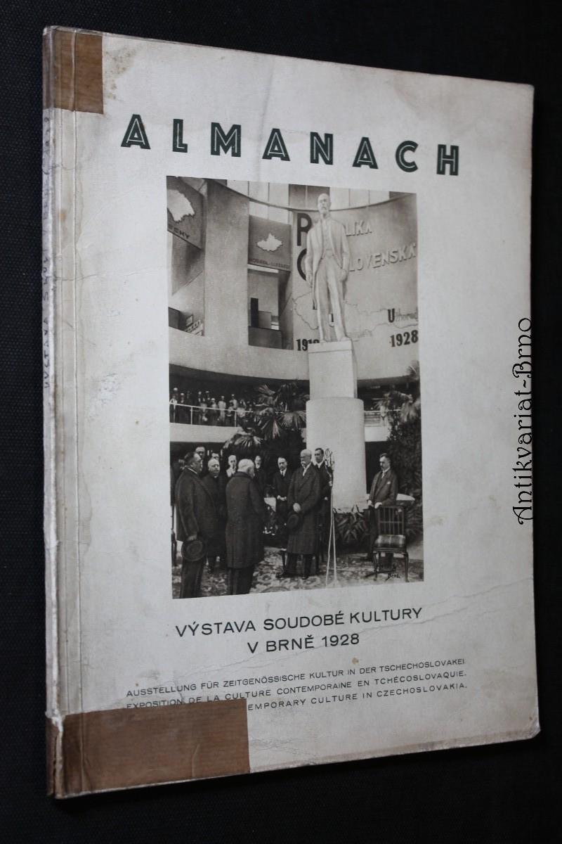Almanach : výstava soudobé kultury v Brně 1928