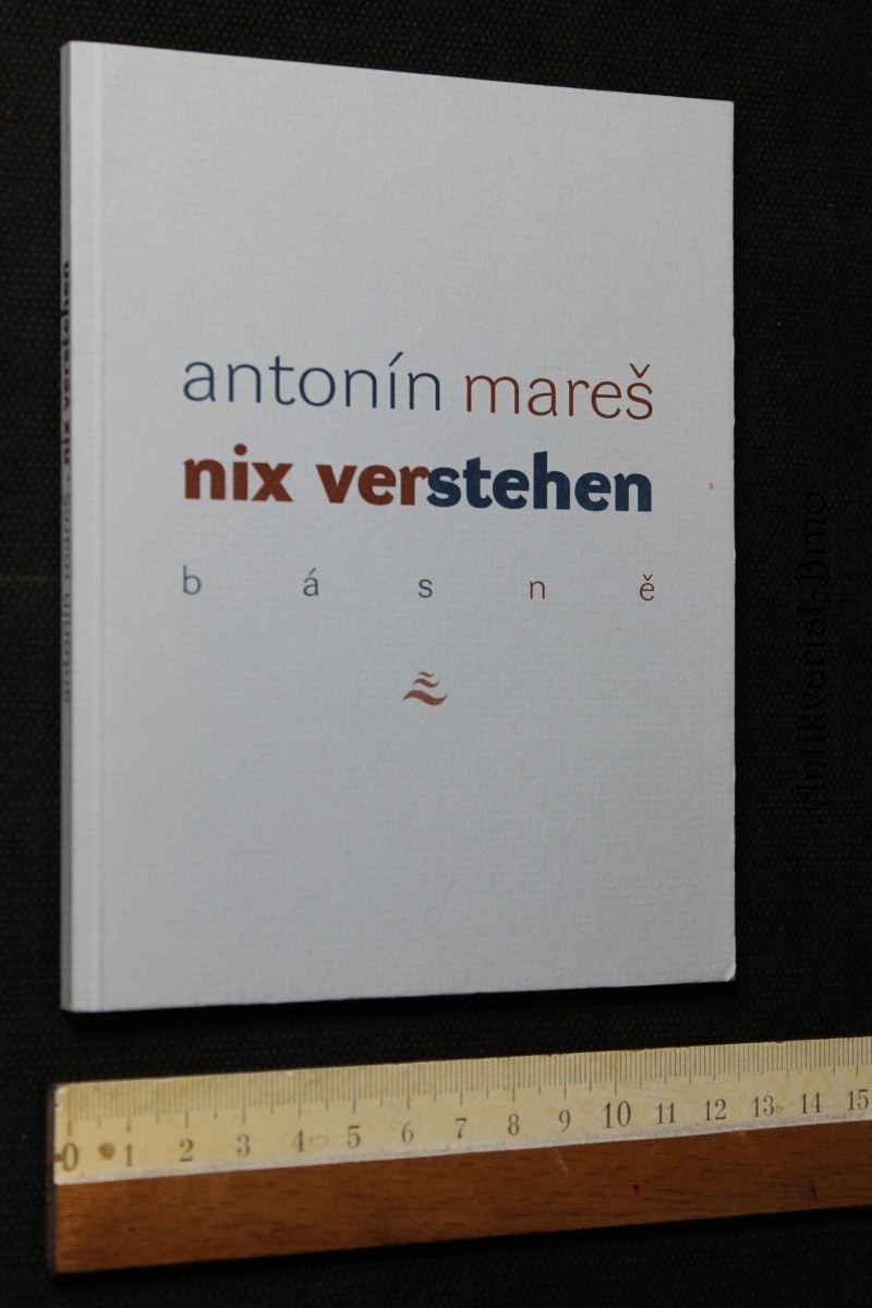 Nix verstehen : básně