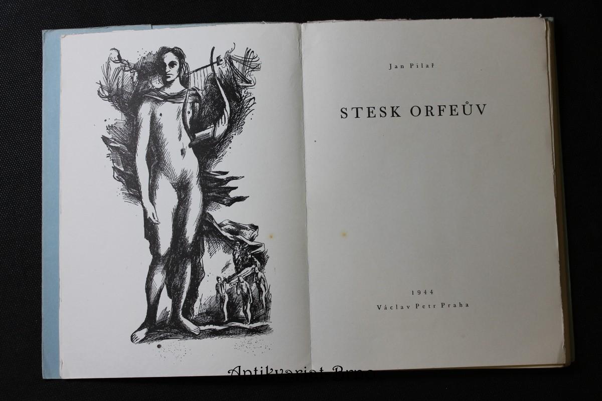 Stesk Orfeův : [básně]