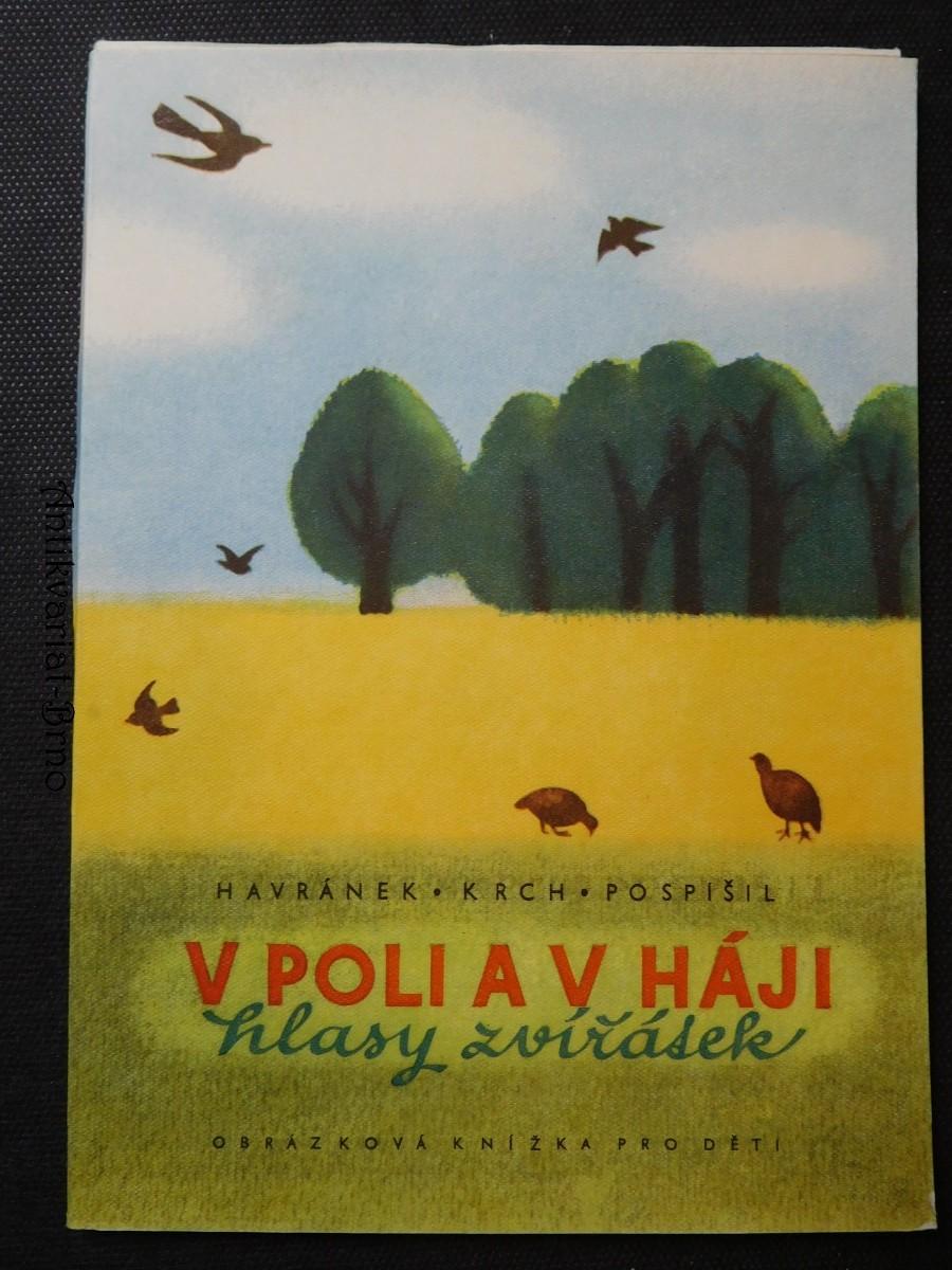 V poli a v háji : hlasy zvířátek : obrázková knížka pro děti