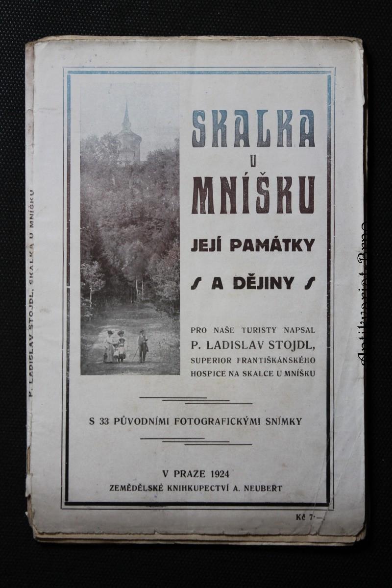 Skalka u Mníšku, její památky a dějiny