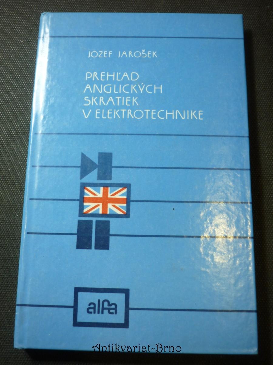 prehlad anglických skratiek v elektrotechnike