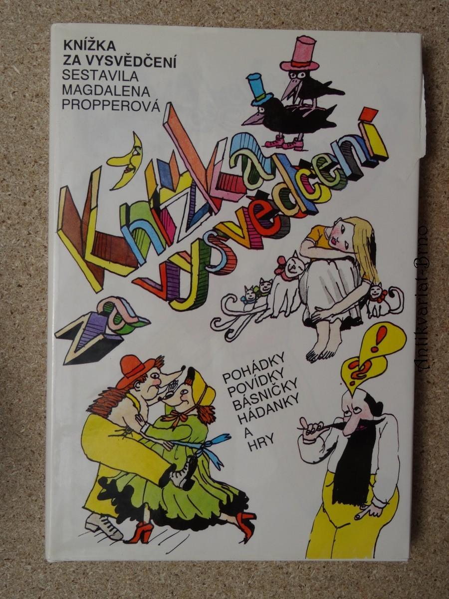Knížka za vysvědčení : Veselé čtení : Pro děti od 7 let