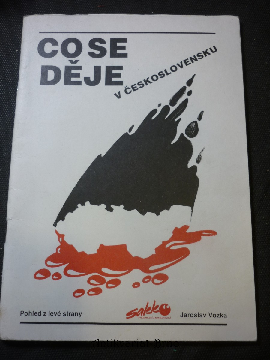 Co se děje v Československu : Pohled z levé strany