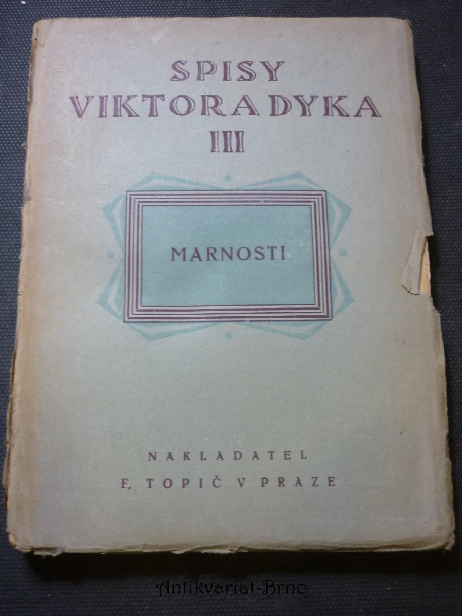 Marnosti : 1895-1901
