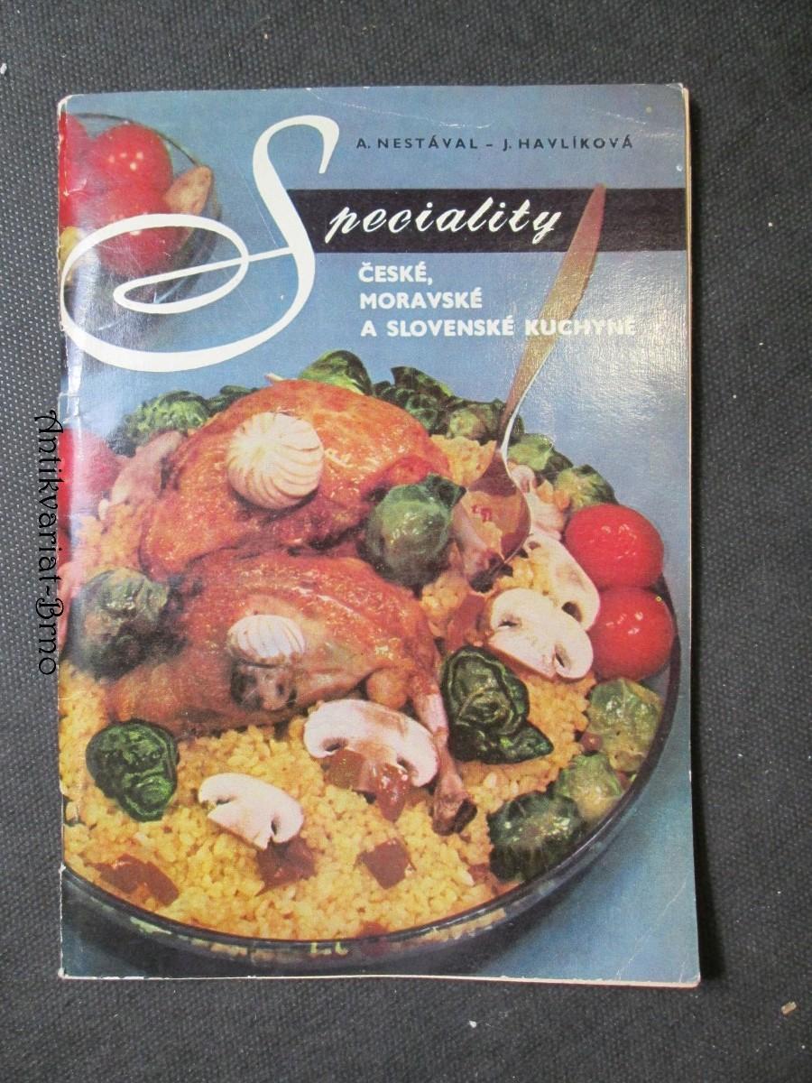 Speciality české, moravské a slovenské kuchyně