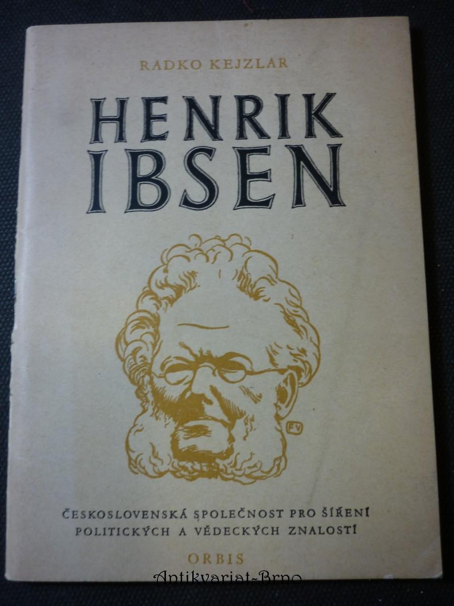 Henrik Ibsen : k padesátému výročí jeho úmrtí
