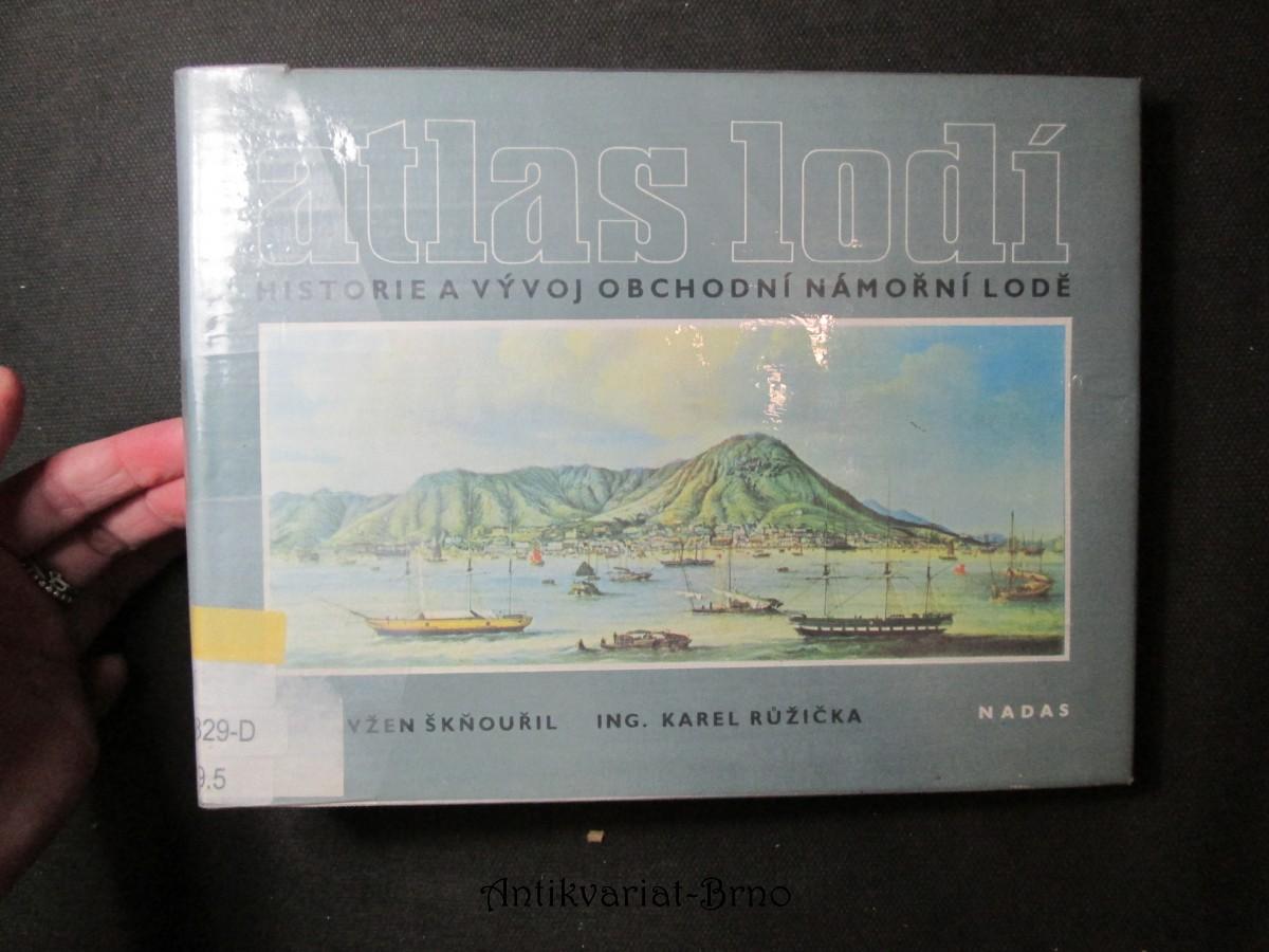 Atlas lodí. Historie a vývoj obchodní námořní lodě