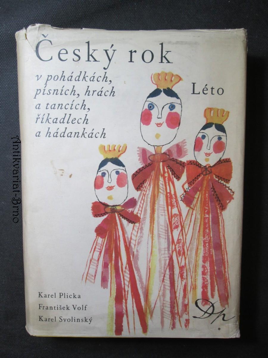 Český rok v pohádkách, písních, hrách a tancích, říkadlech a hádankách
