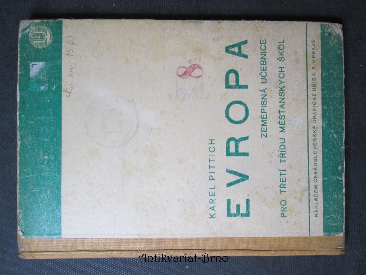 Evropa. Zeměpisná učebnice