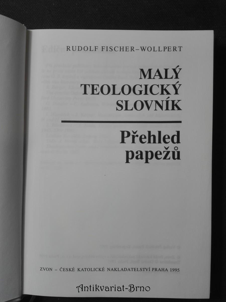 Malý teologický slovník – Přehled papežů