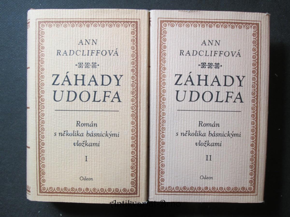 Záhady Udolfa I. a II. díl. Román s několika básnickým vložkami