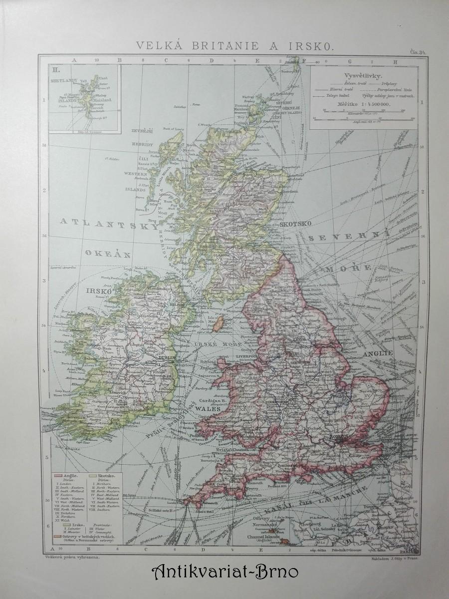Velká Británie a Irsko