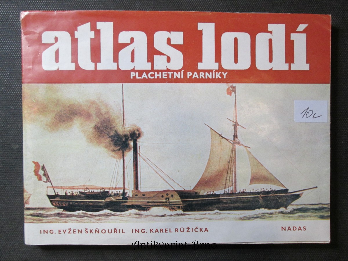 Atlas lodí. Plachetní parníky