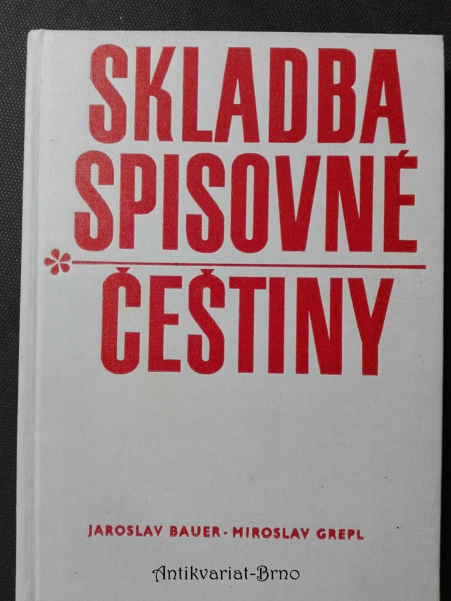 Skladba spisovné češtiny