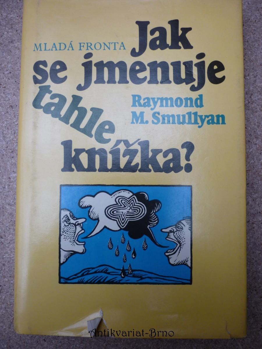 Jak se jmenuje tahle knížka?
