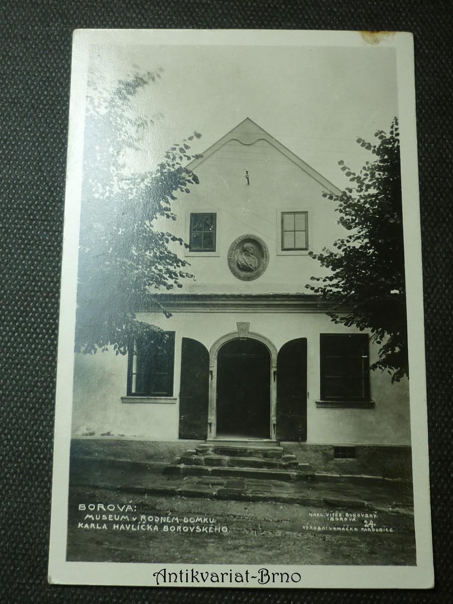 Borová: Museum v rodném domku Karla Havlíčka Borovského.
