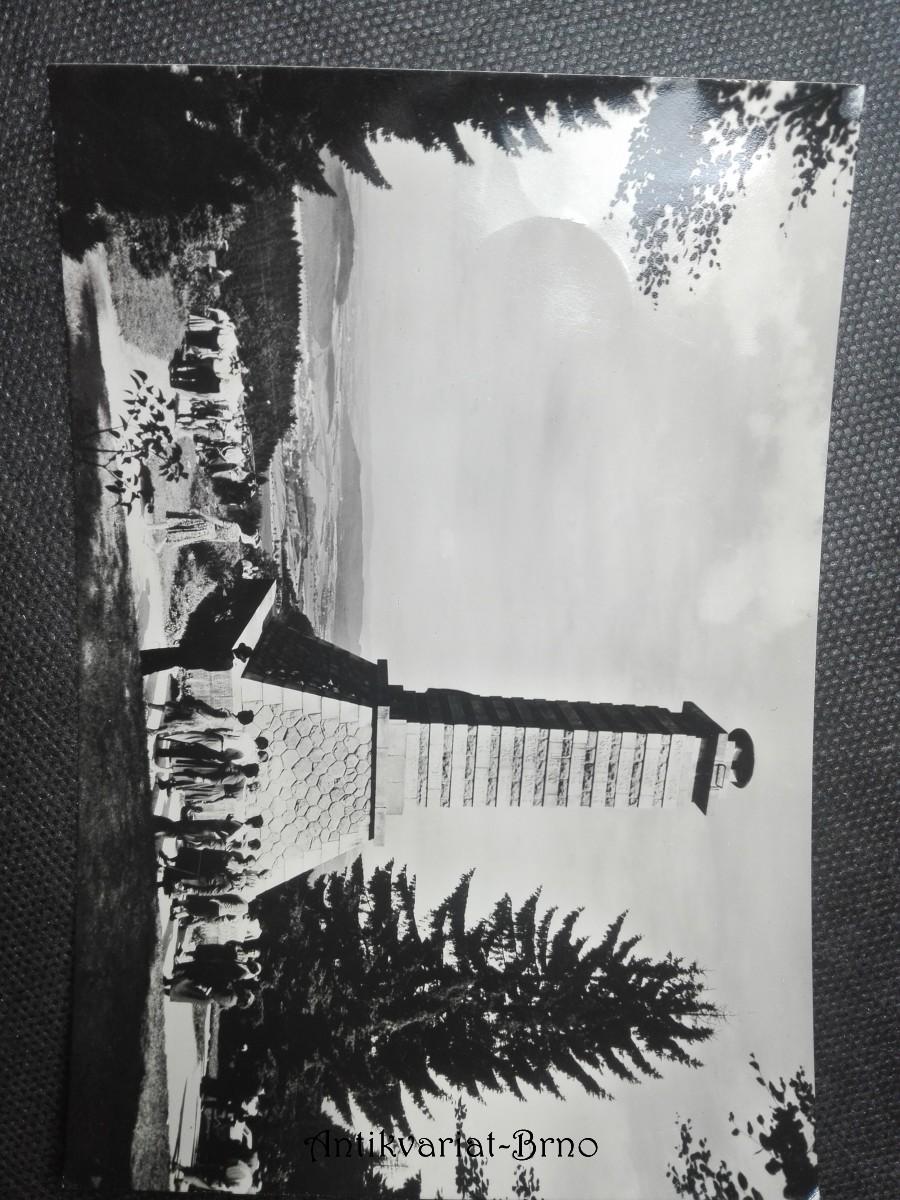 Šumava - Klenčí pod Čerchovem. Vyhlídka od Baarcva pomníku