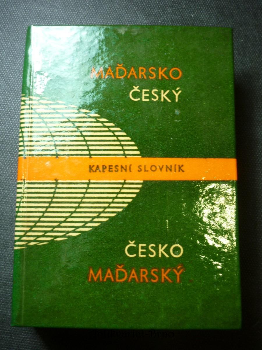 Maďarsko-český a česko-maďarský kapesní slovník