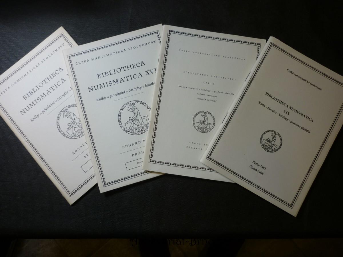 bibliotheca numismatica XVII.
