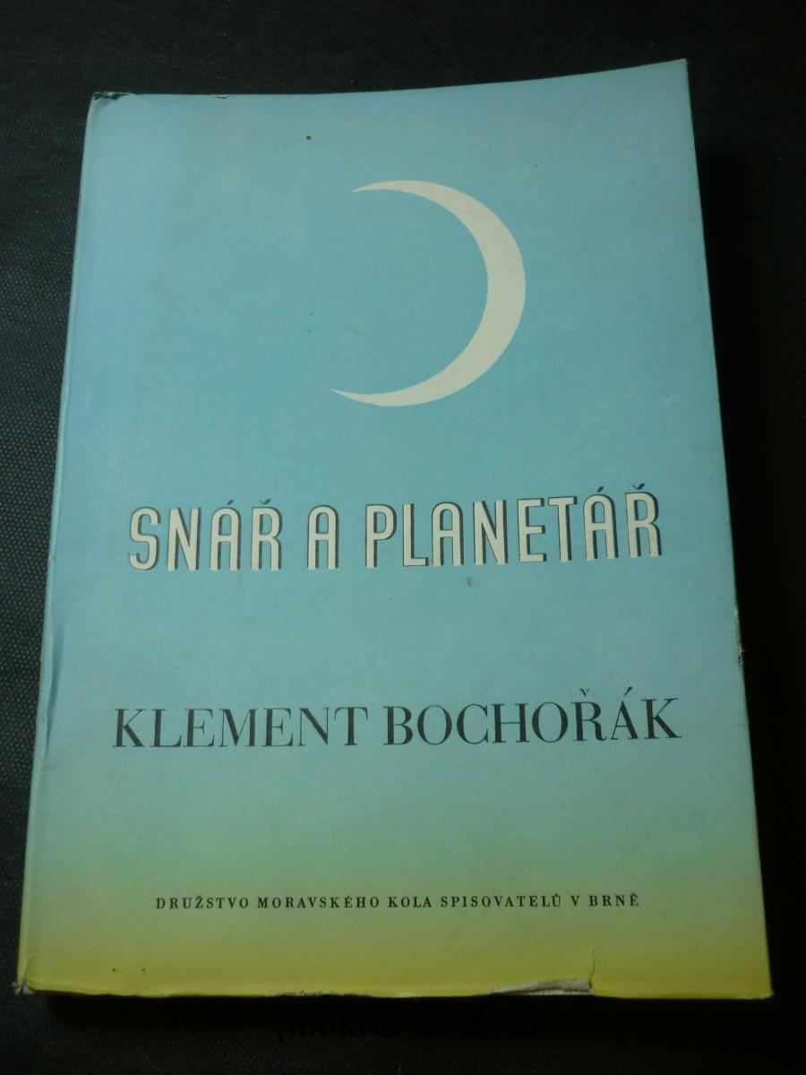 Snář a planetář : básně