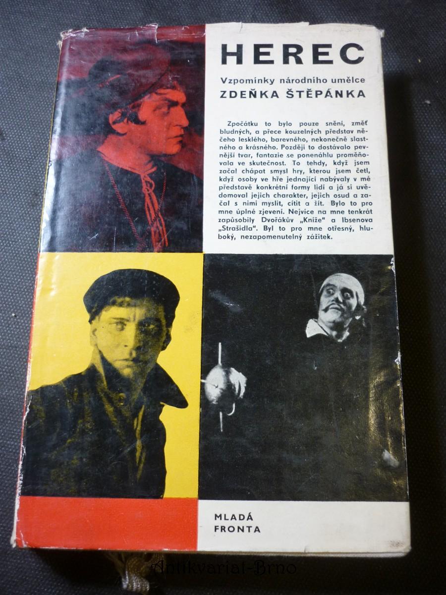 Herec : Vzpomínky národního umělce Zdeňka Štěpánka