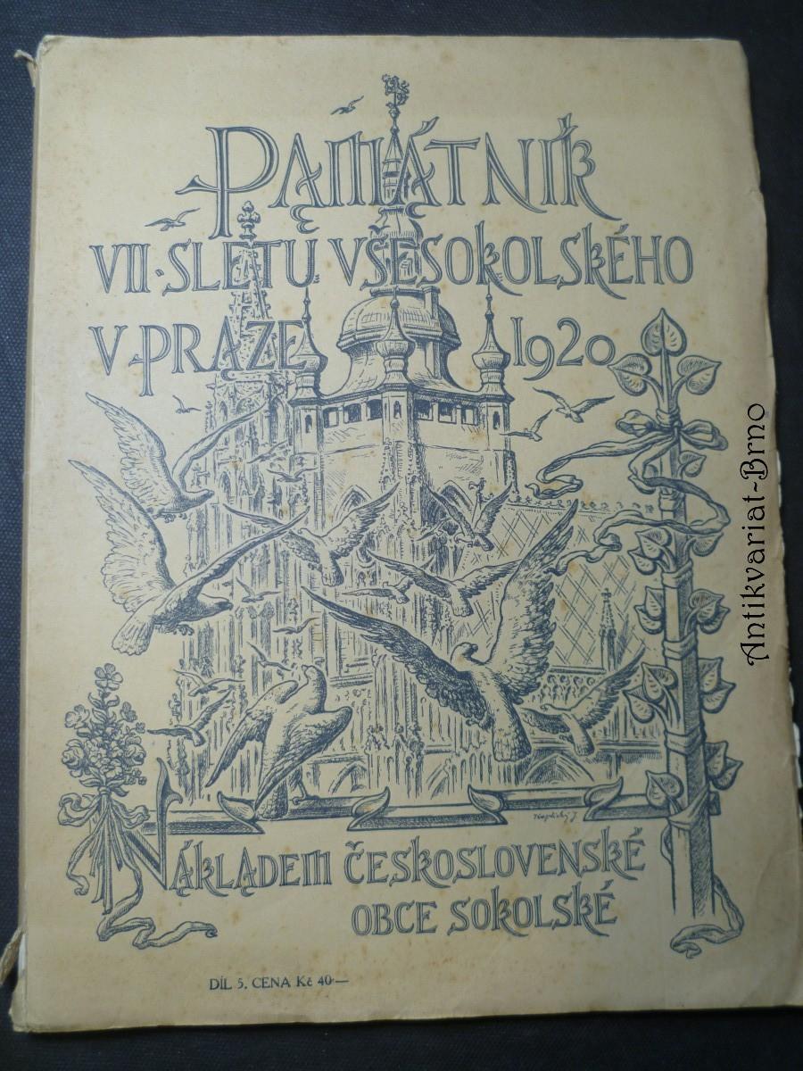 Památník VII. sletu Všesokolského v Praze