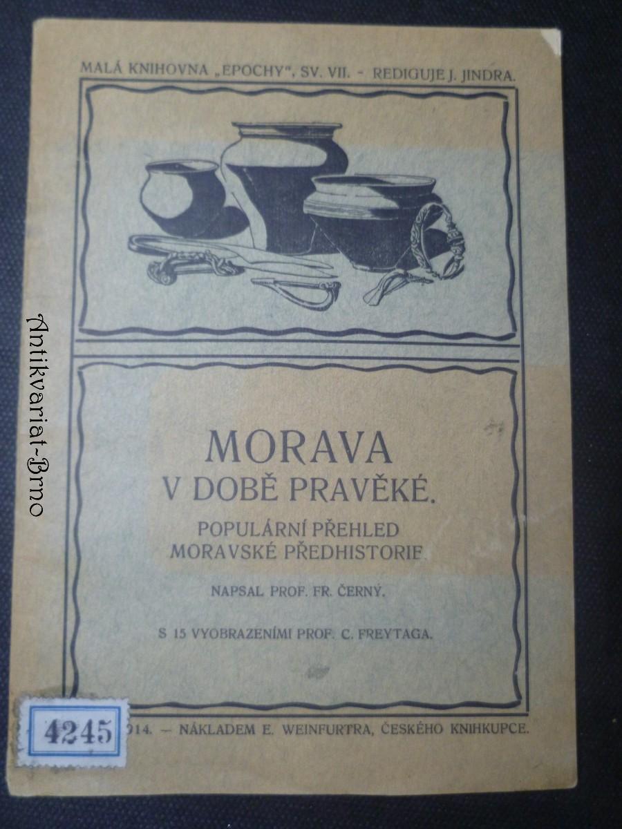 Morava v době pravěké. Populární přehled moravské předhistorie