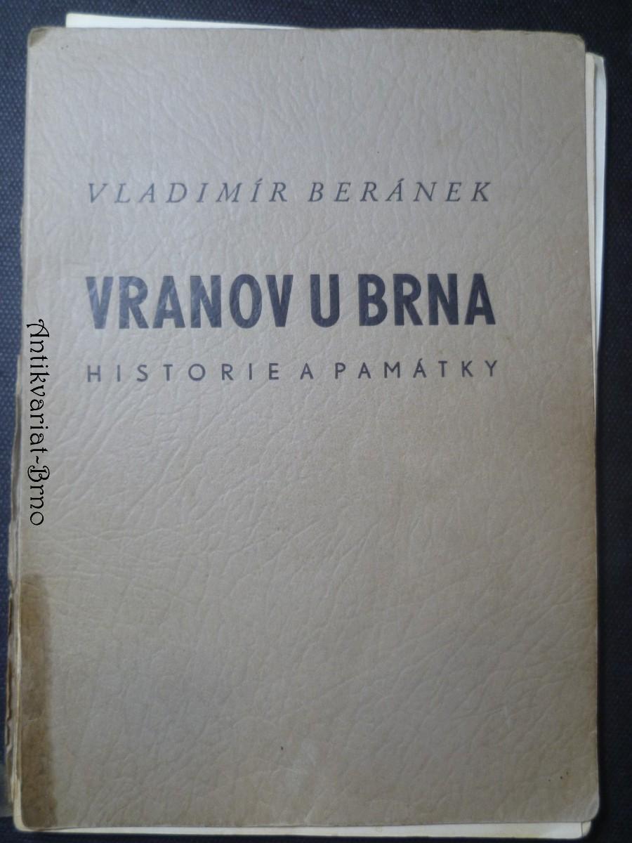 Vranov u Brna - historie a památky