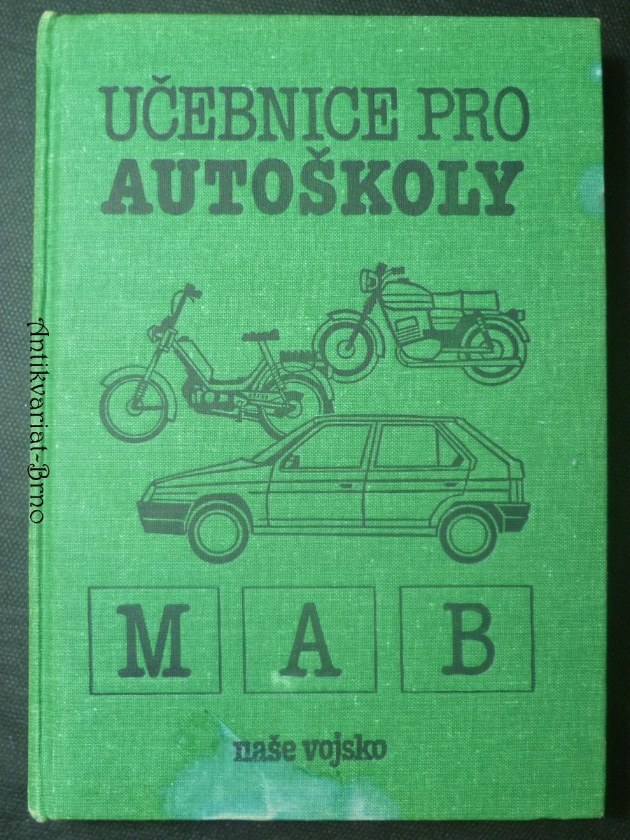 Učebnice pro autoškoly M, A, B