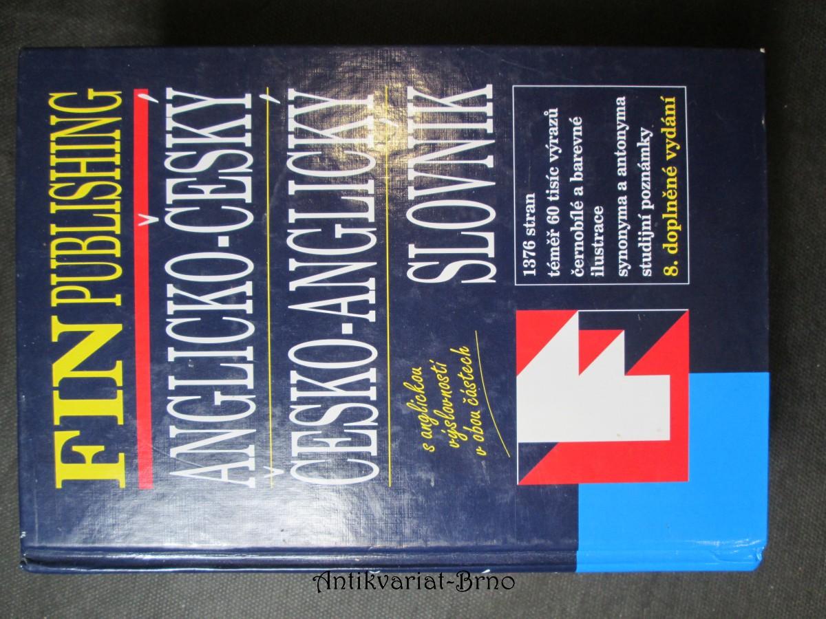 Anglicko - český, česko - anglický slovník